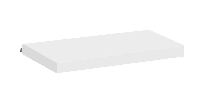 Hoppekids - Hørmadras 120x60x7 - Hvid - Hørmadras til Anton babyseng og bænk