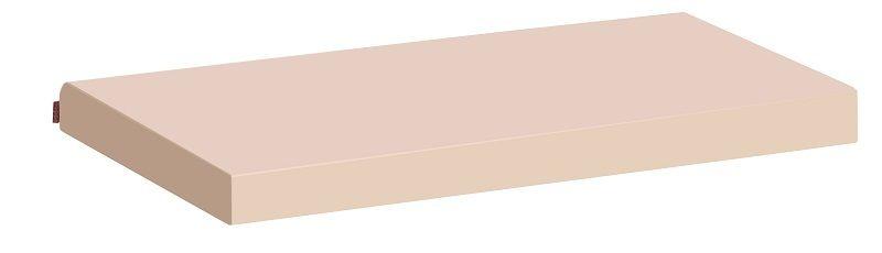 HoppeKids Madrasbetræk - Beige - 12x70x160 cm