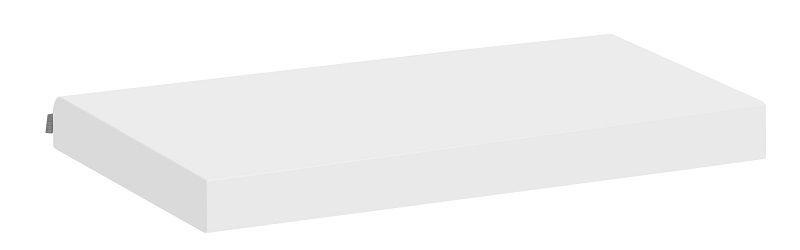 Hoppekids Madrasbetræk - Hvid - 12x70x160 cm