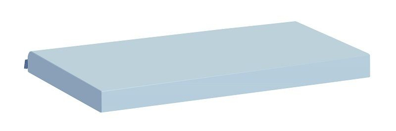 Hoppekids Madrasbetræk - Lyseblå - 12x70x160 cm