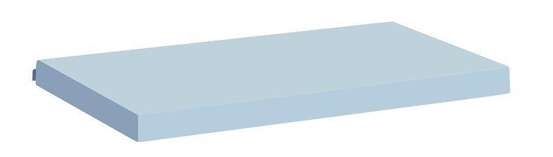 HoppeKids Madrasbetræk - Lyseblå - 12x90x200 cm