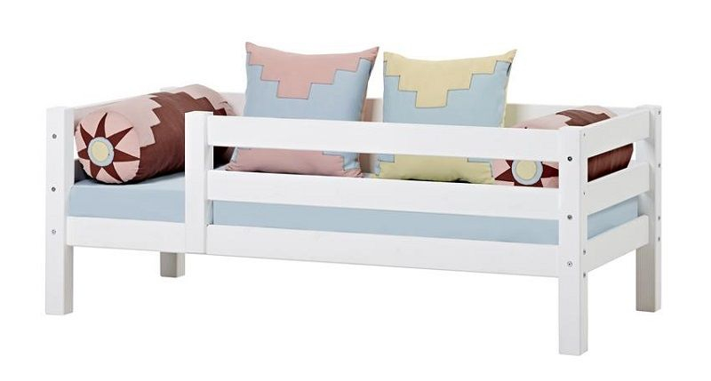 HoppeKids Premium Juniorseng - Juniorseng med sengehest - 70x160 cm