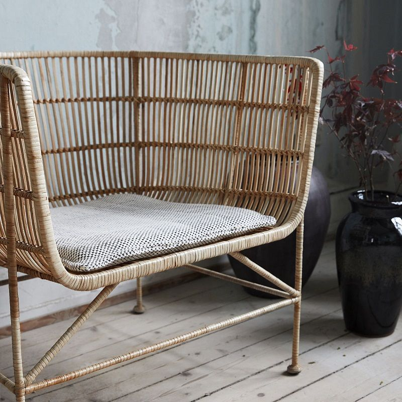 House Doctor Cuun Loungestol Natur - Loungestol i rattan
