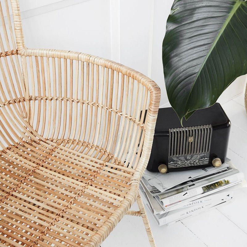 House Doctor Cuun Spisebordsstol Natur - Spisebordsstol i rattan
