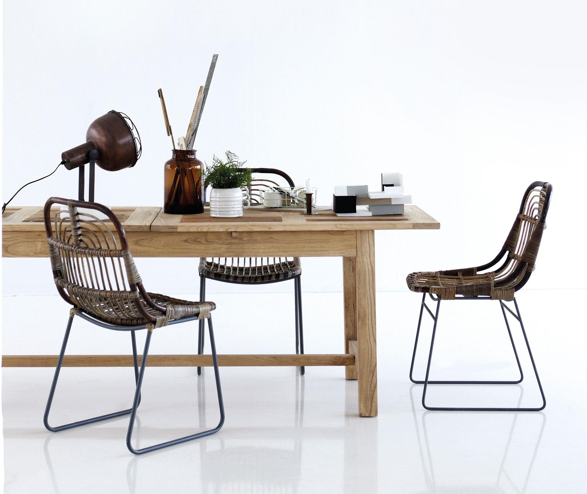 House Doctor Kawa Stol - Naturfarvet stol i metal.