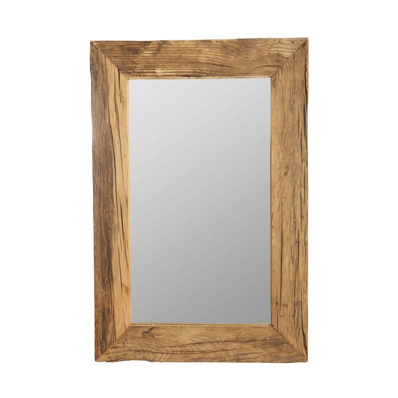 spejl med træramme House Doctor Pure spejl   Gratis fragt spejl med træramme