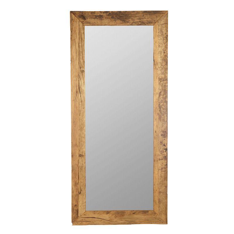 House Doctor Pure spejl - Spejl med ramme genanvendt træ