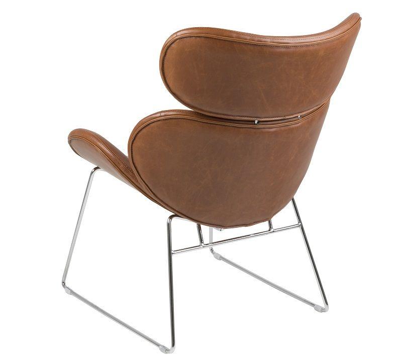 Hunt Hvilestol i kunstlæder - Vintage cognac - Hvilestol i kunstlæder