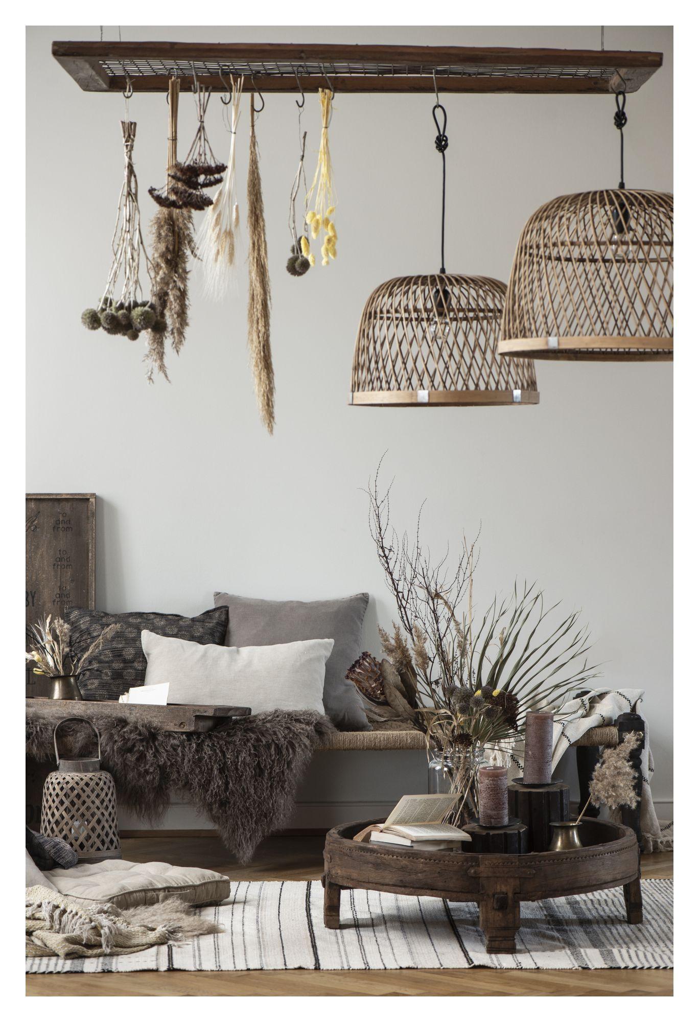 Ib Laursen Bambus Lampeskærm - Natur