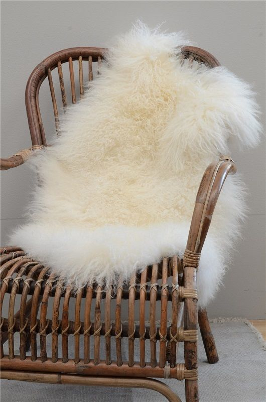Ib Laursen - Loungestol - Natur rattan - Klassisk naturfarvet loungestol