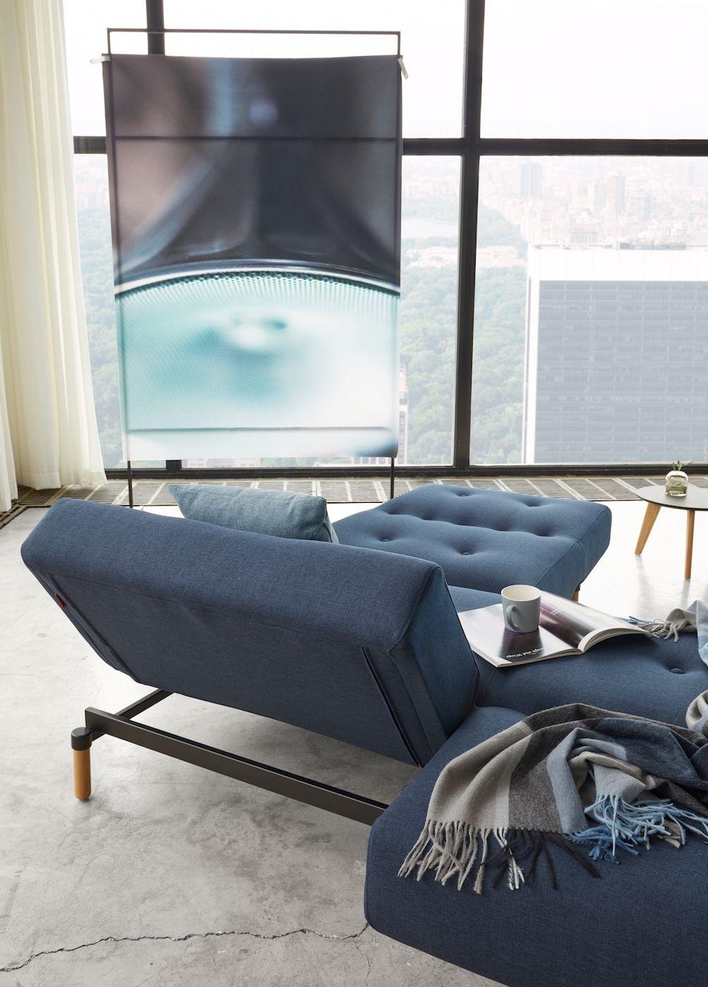 Innovation Living, Ample Stem Loungestol, Blå