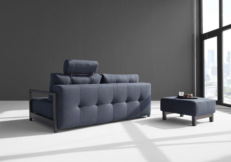 Innovation Living, Bifrost Sovesofa Blå - Blå sovesofa 155x200 cm