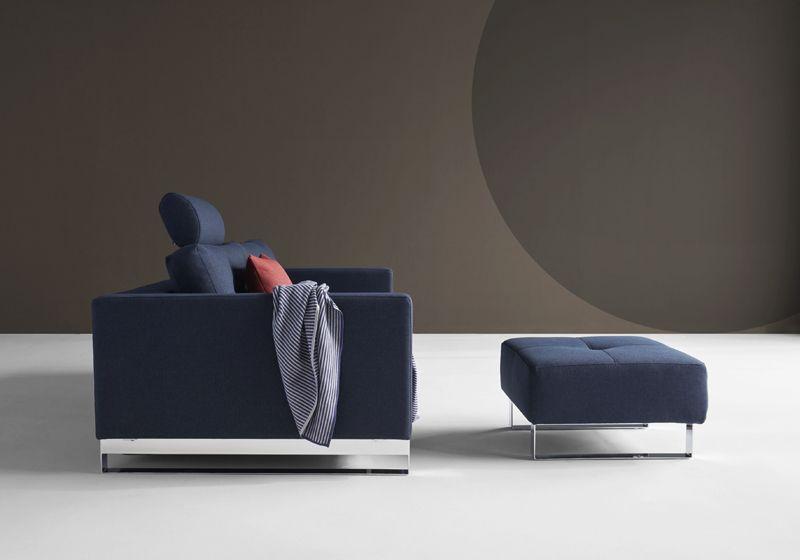 Innovation Living, Cassius Puf Blå - Puf i blå