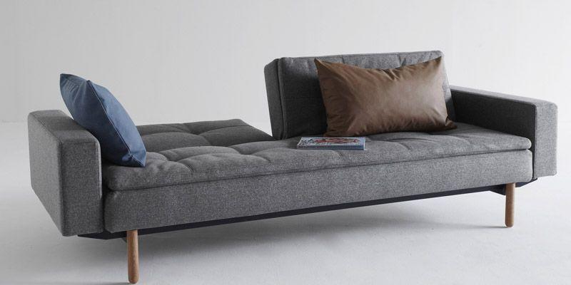 Innovation Dublexo Sovesofa Grå - Sovesofa med armlæn - grå