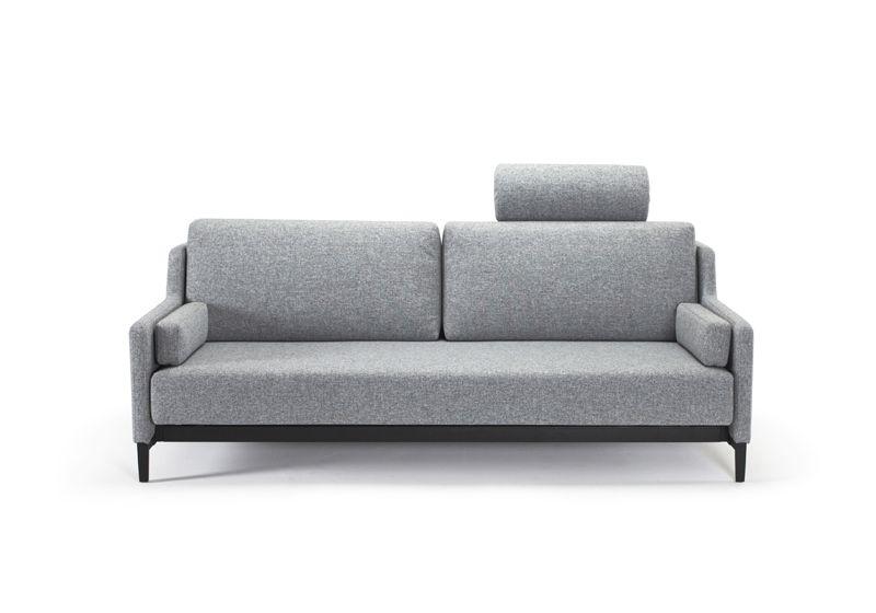 Innovation Living, Hermod Sovesofa Granit grå - Grå sovesofa 160x200 cm