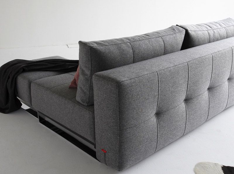 Innovation Living - Supremax Lounger Sovesofa - Grå - Supremax sovesofa - grå