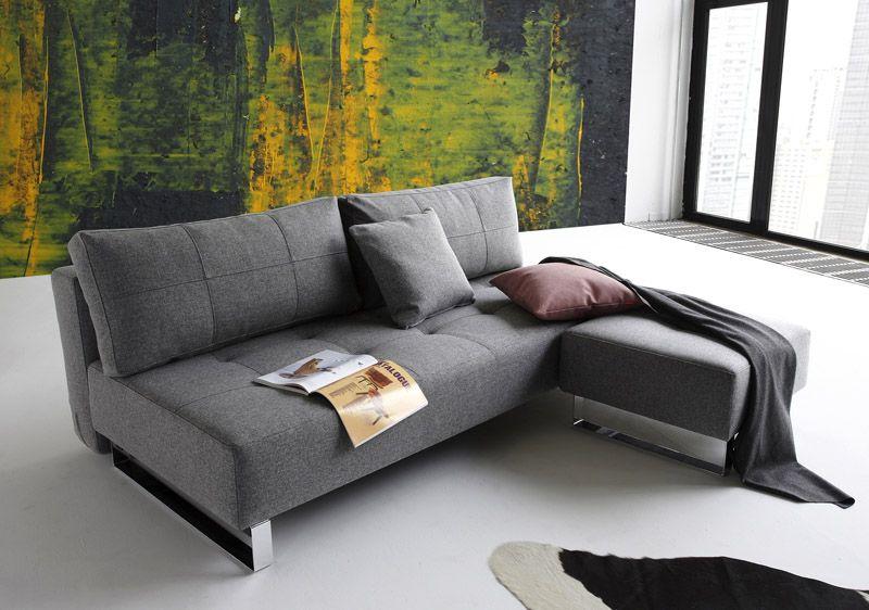Innovation Supremax Lounger - Grå - Supremax sovesofa - grå