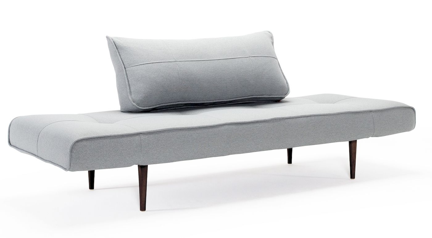 Innovation Living Zeal Styletto Sovesofa, Pacific Pearl - m. Styletto ben mørk træ
