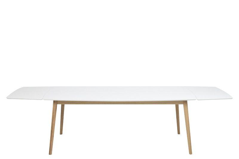 Julius Spisebord - Hvid - 90 x 180 cm