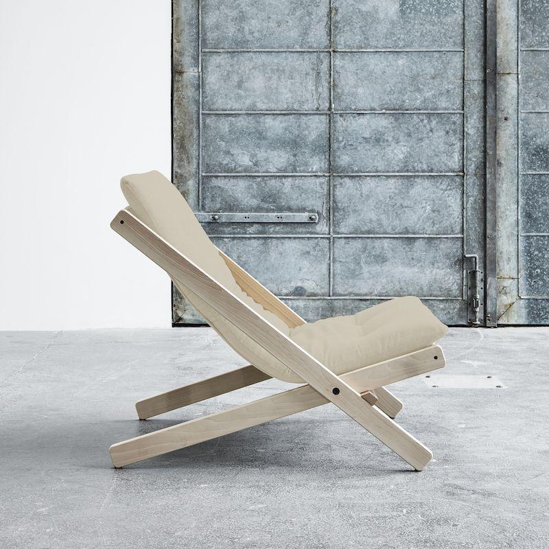 Boogie Lounge stol, Beige/Natur