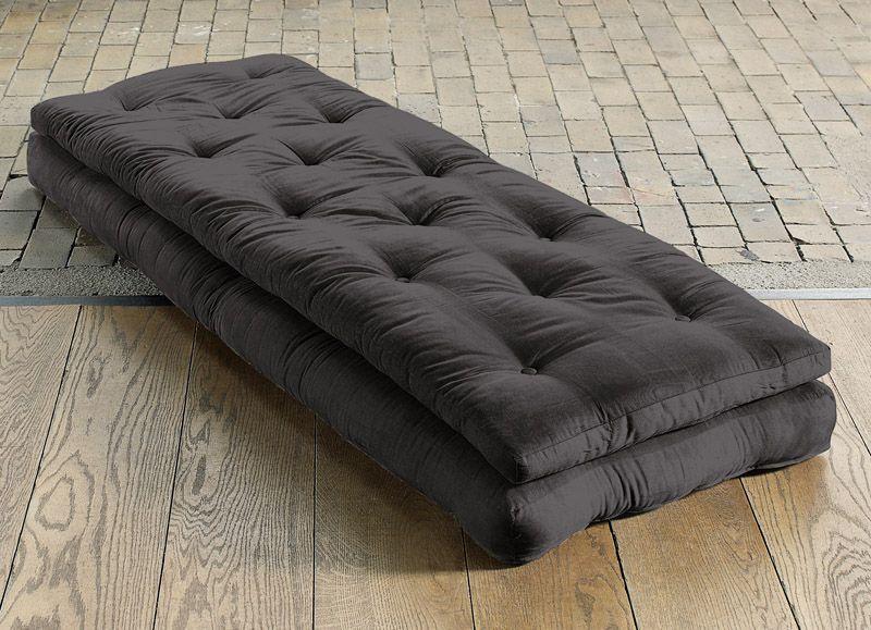 Buckle Up Futonstol - Grå - Mørkegrå lenestol