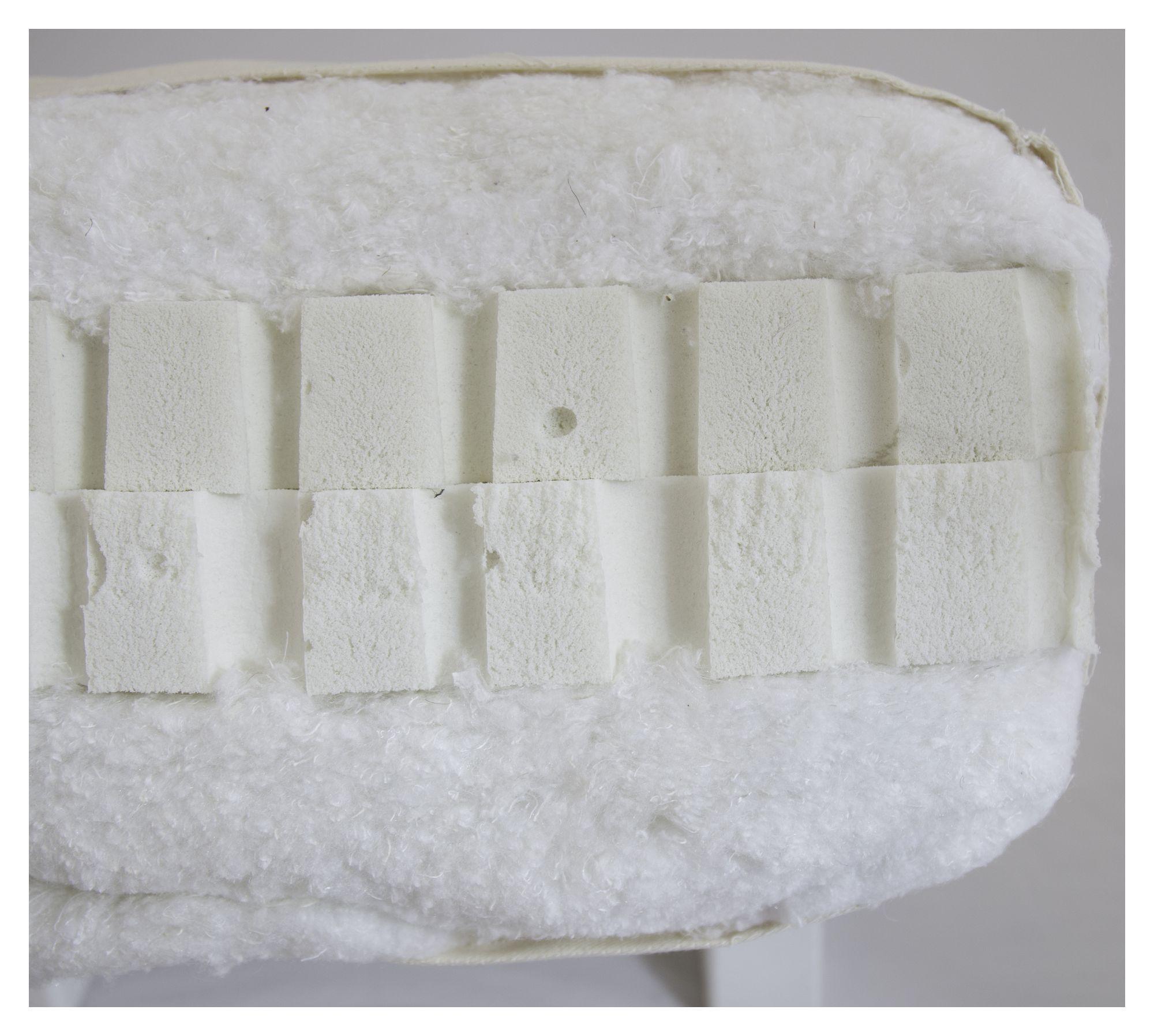 Double latex 140 - Natur - Hvid futonmadras