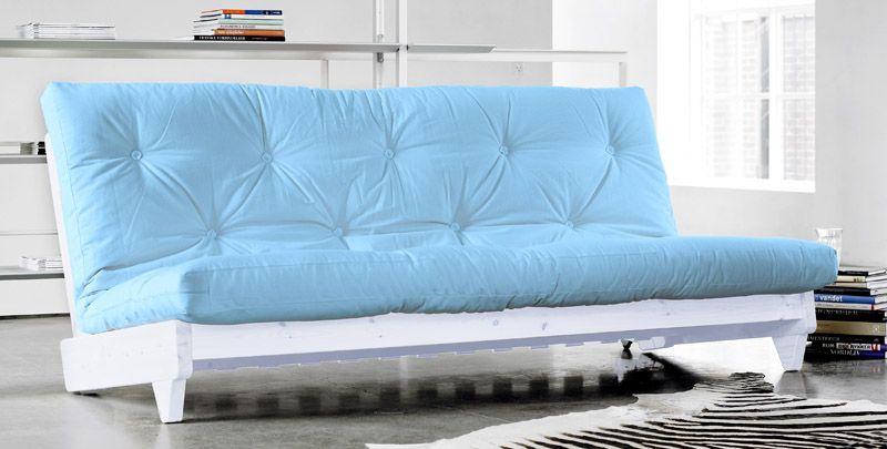 Fresh - Sovesofa - Blå - Sovesofa i lyseblå