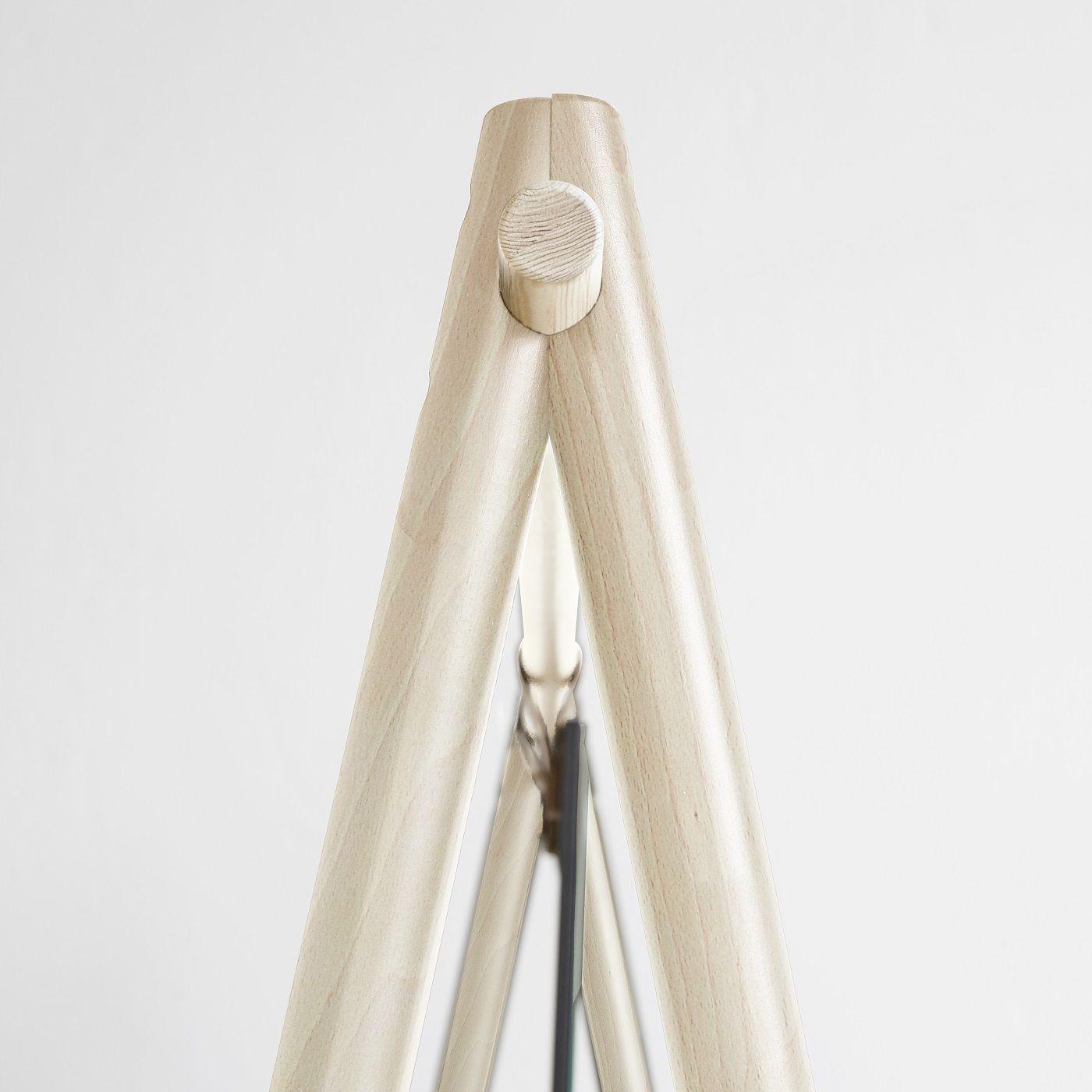 Hongi Tøjstativ m. spejl, Fyrretræ - Karup Design