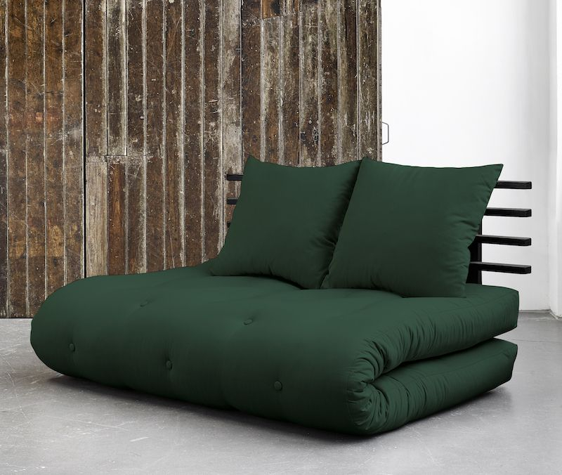 Shin Sano Futon Sofa, Grøn/Sort