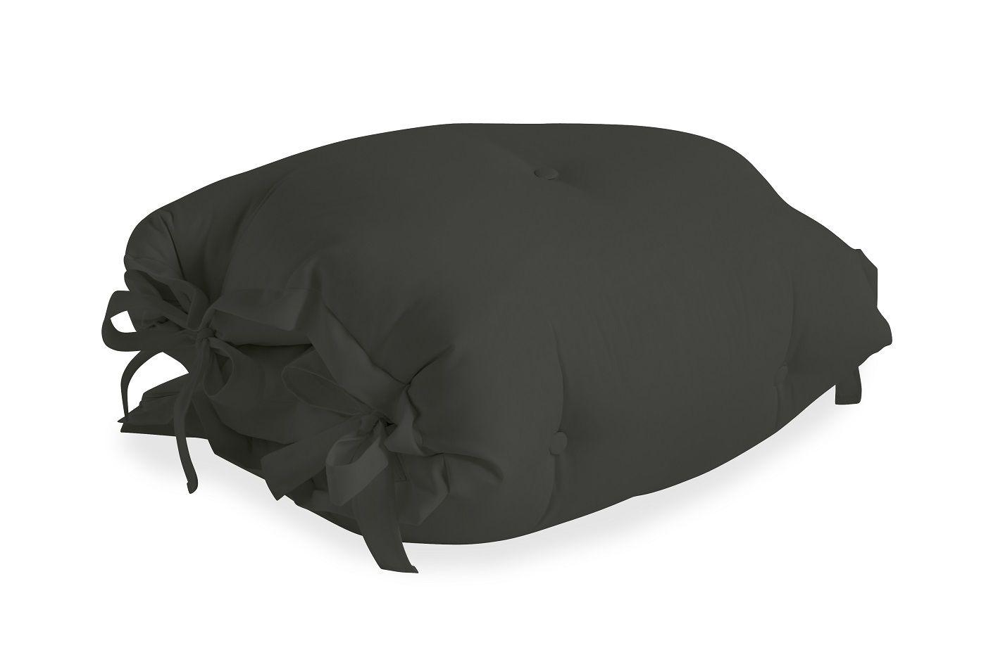 Sit&Sleep Out Futon madras/stol, Mørk grå