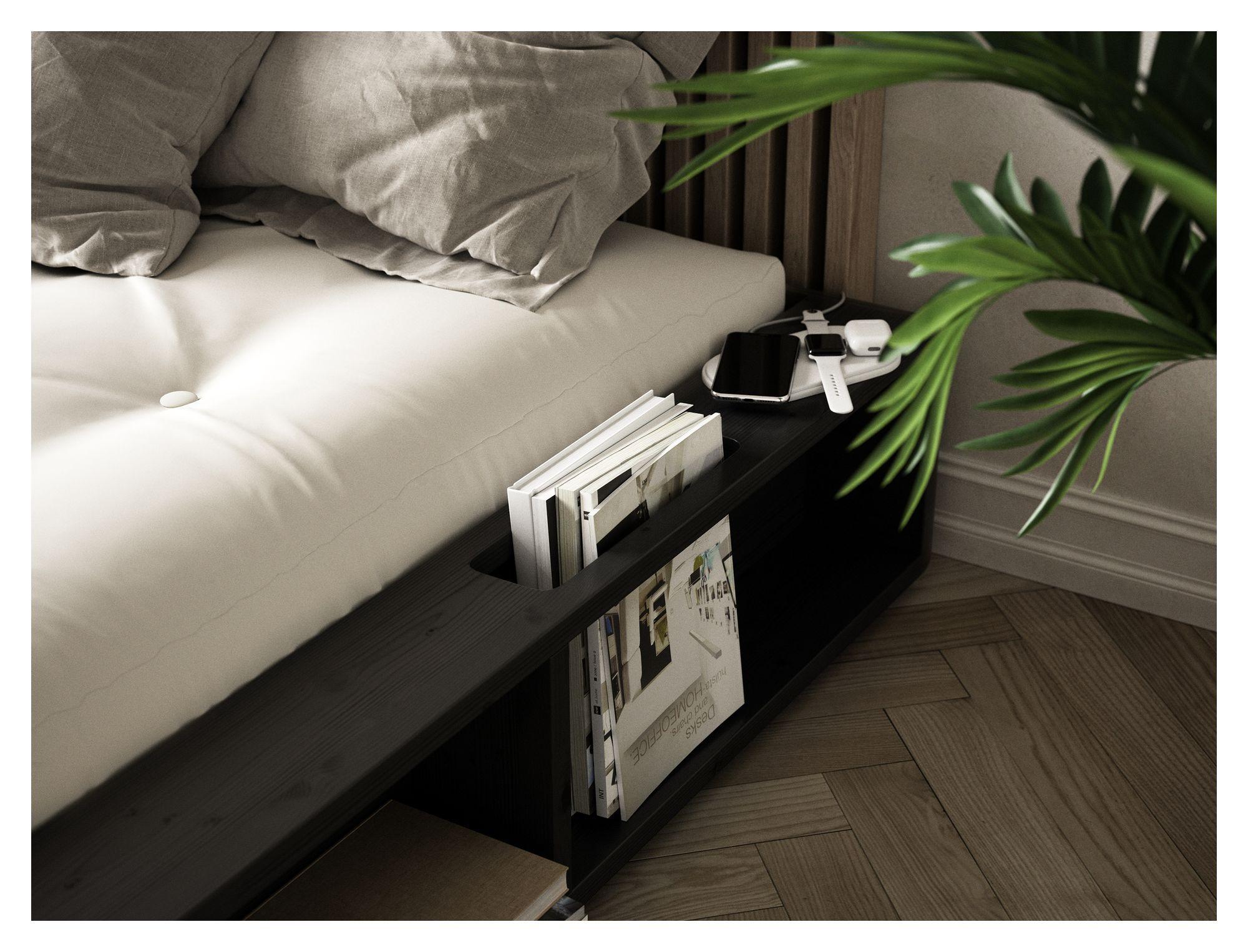 Ziggy Seng 140 m/Comfort Madras - Sort/neutral