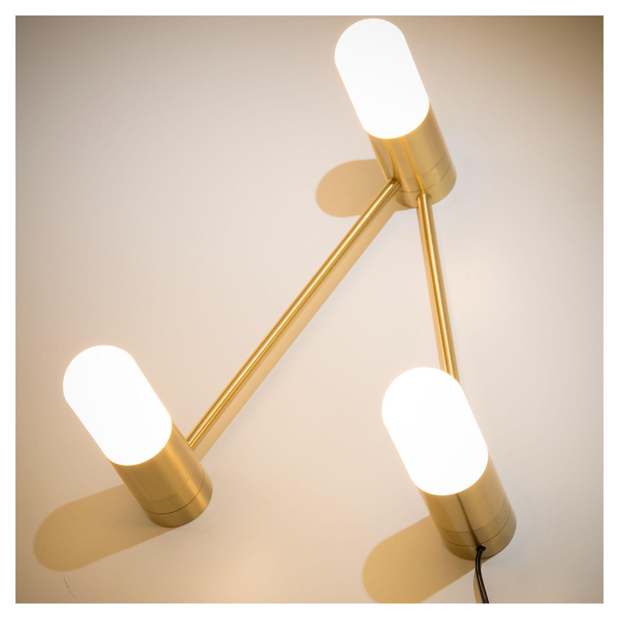 LaForma Badra Bord- eller Væglampe - Gylden
