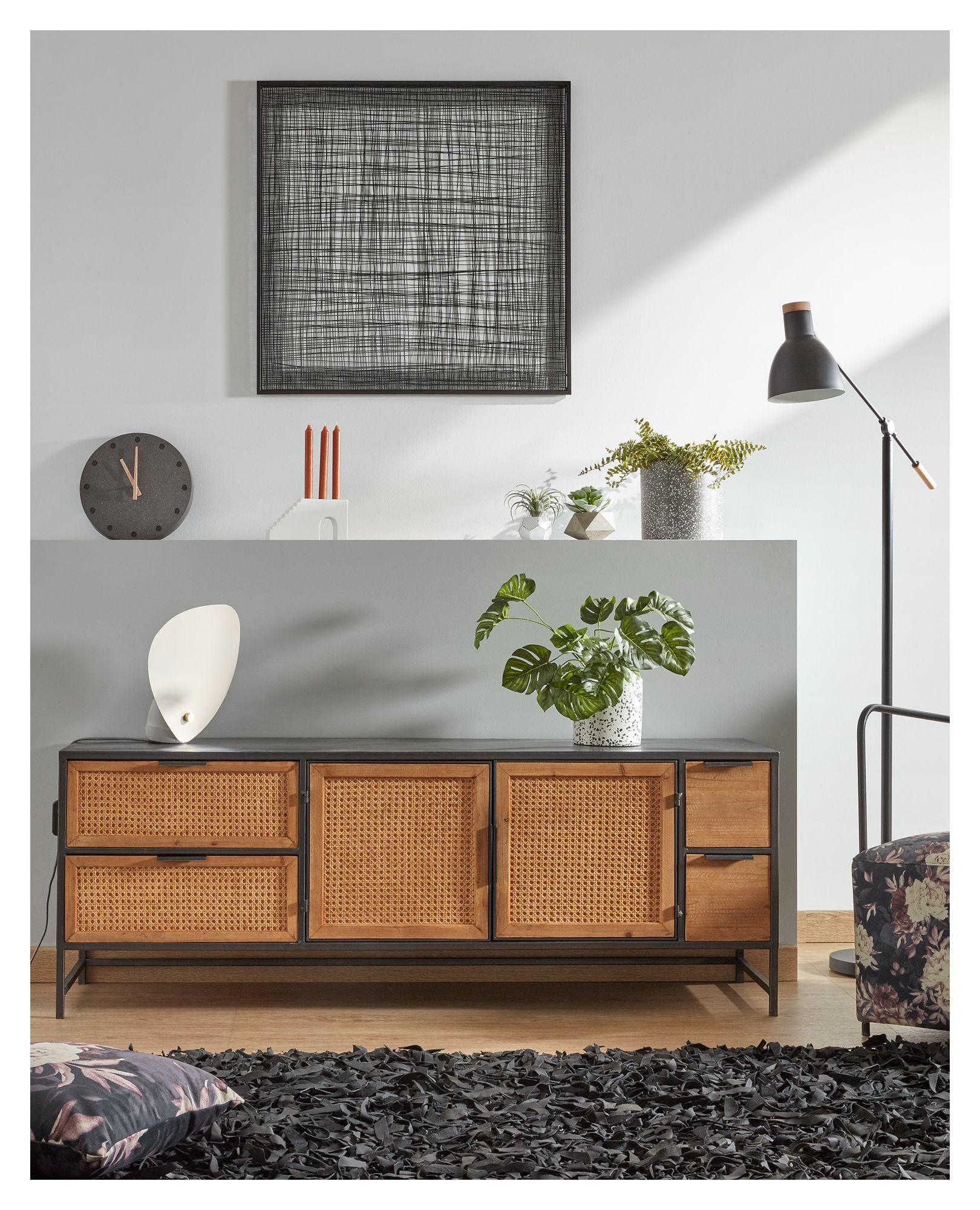 LaForma Christine Væg Dekoration - Sort