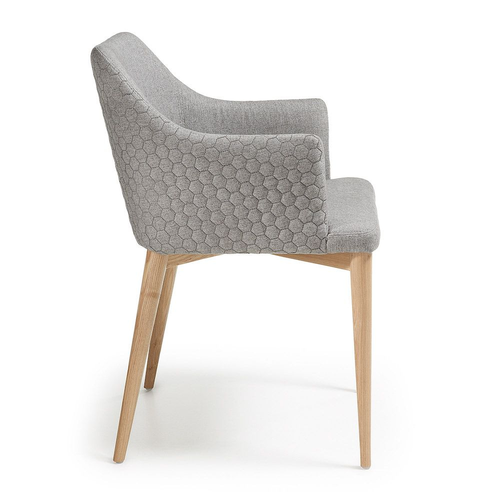LaForma Danai Spisebordsstol - Lys Grå