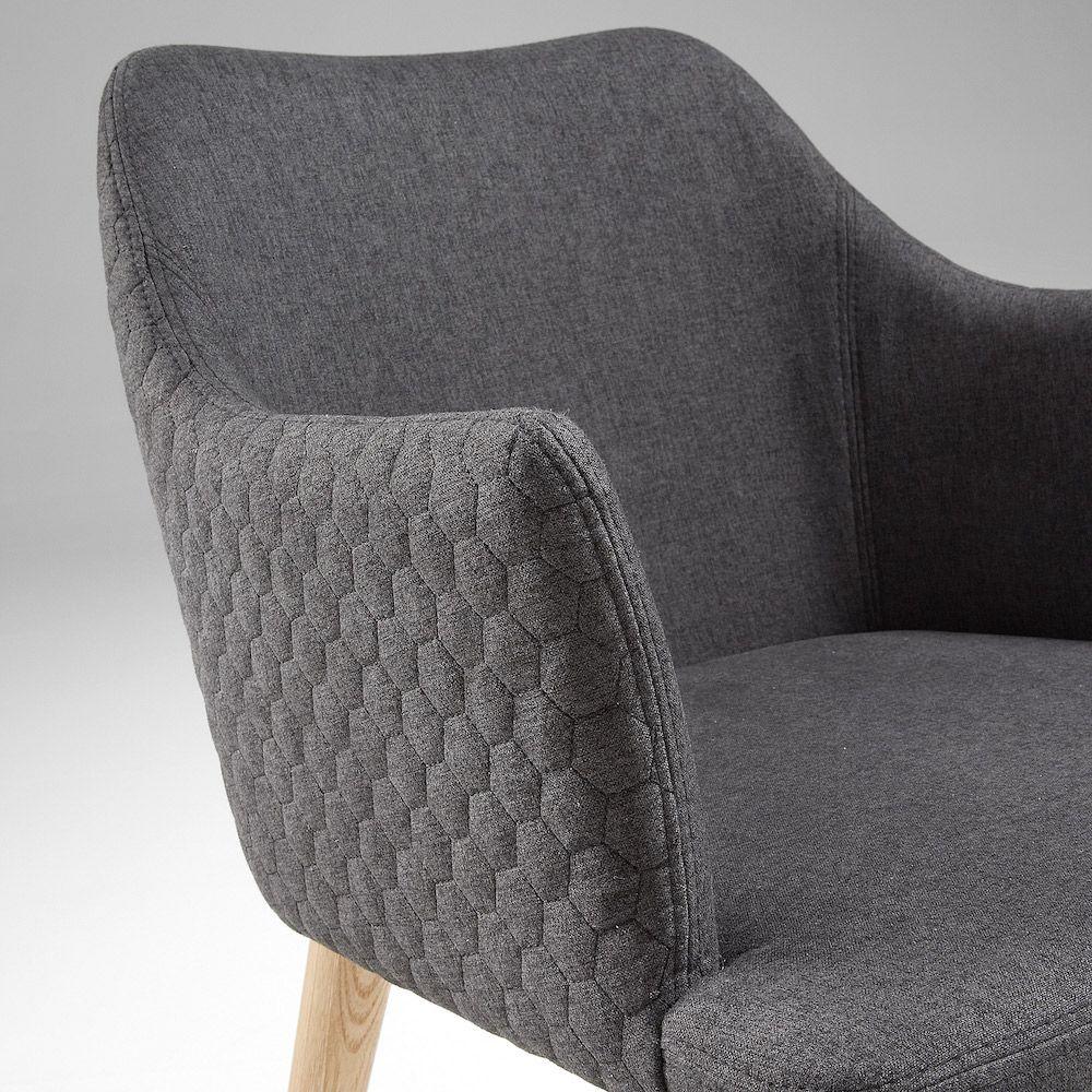 LaForma Danai Spisebordsstol - Mørk Grå