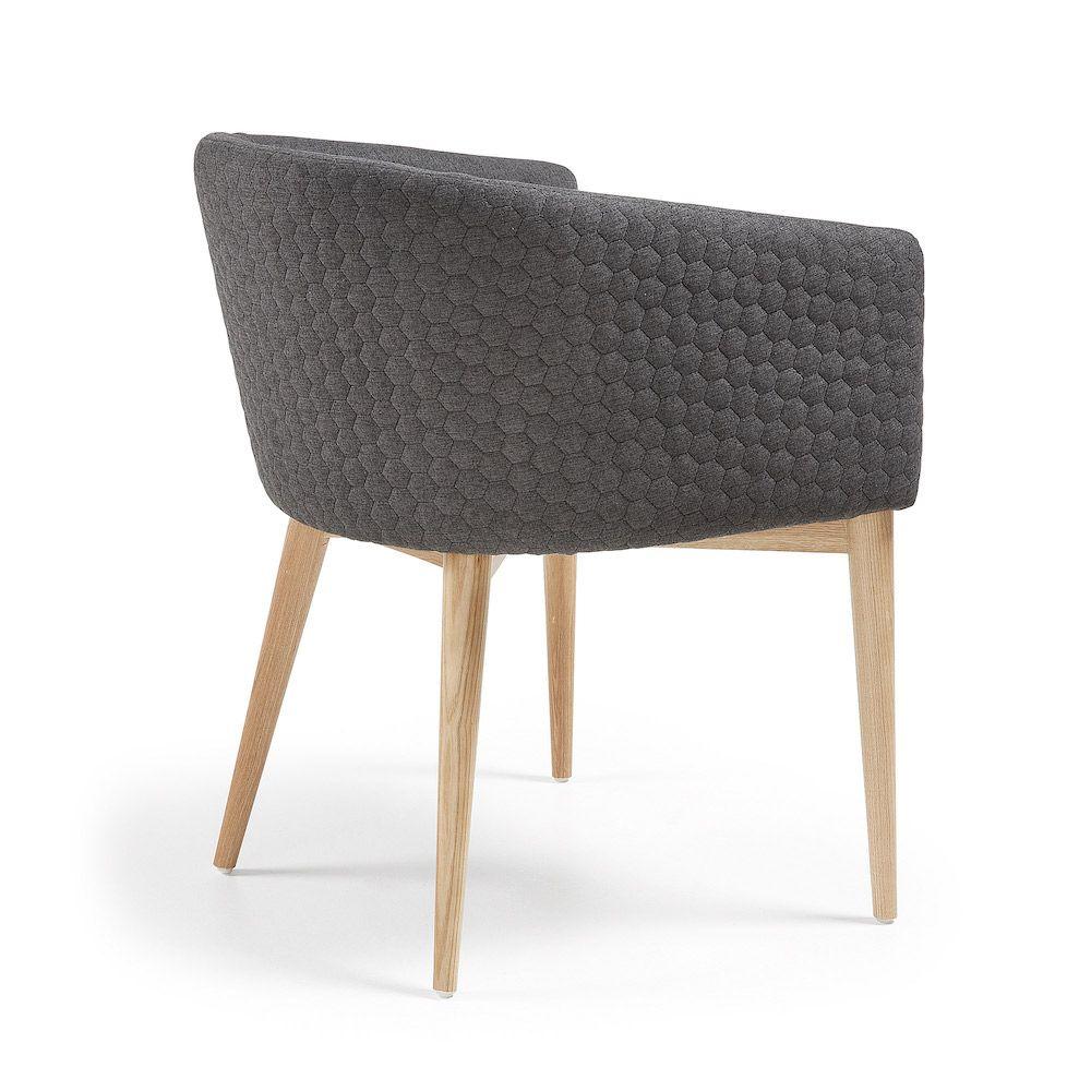 LaForma Harmon Spisebordsstol - Mørk Grå