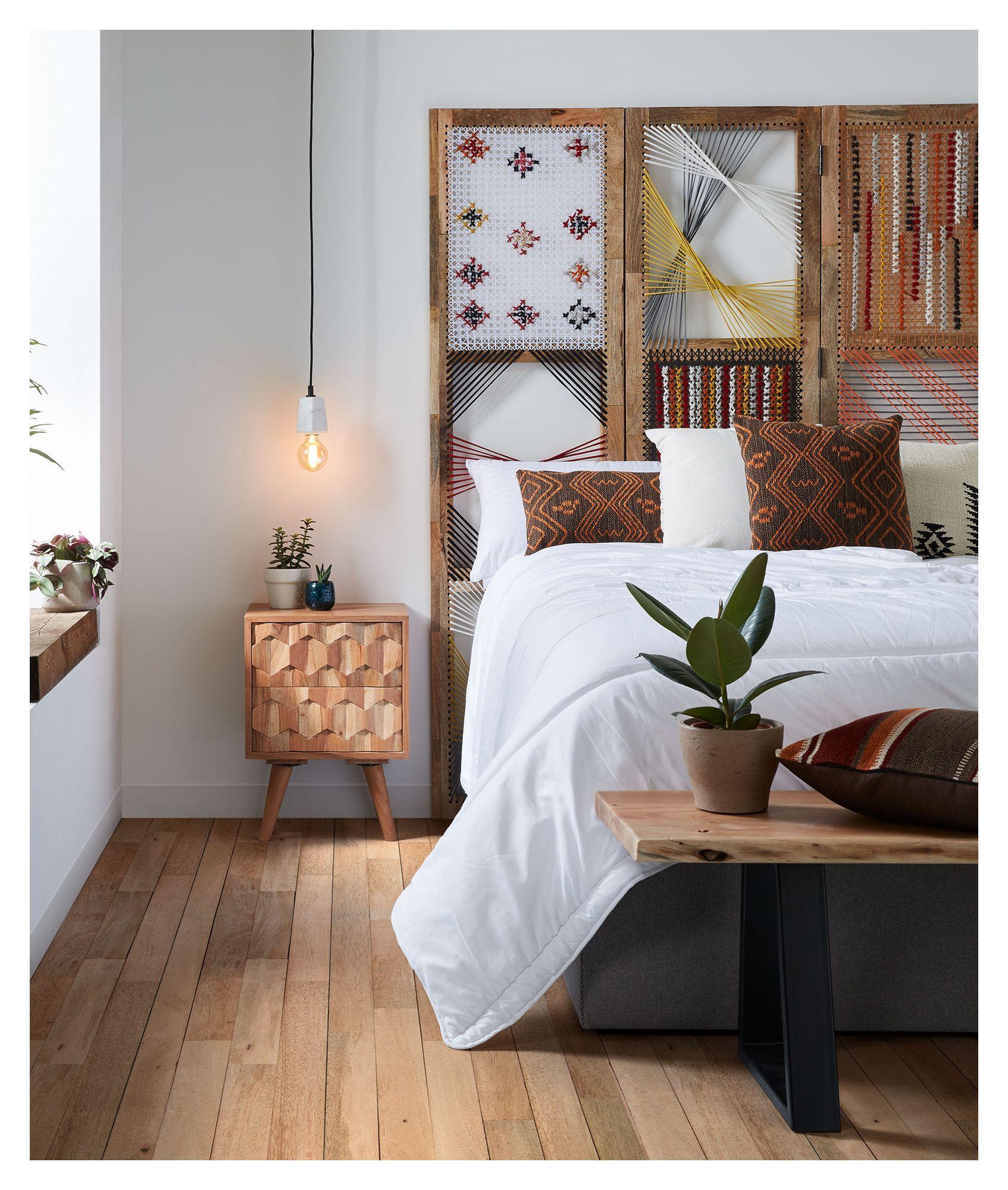 LaForma Image Sengebord 55x40 - Acaciatræ