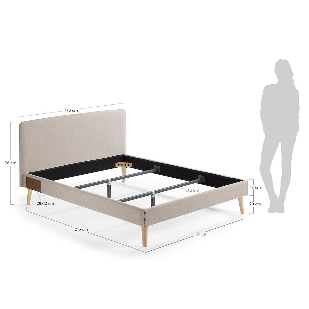 LaForma - Lydia Sengeramme - Beige - 160x200cm