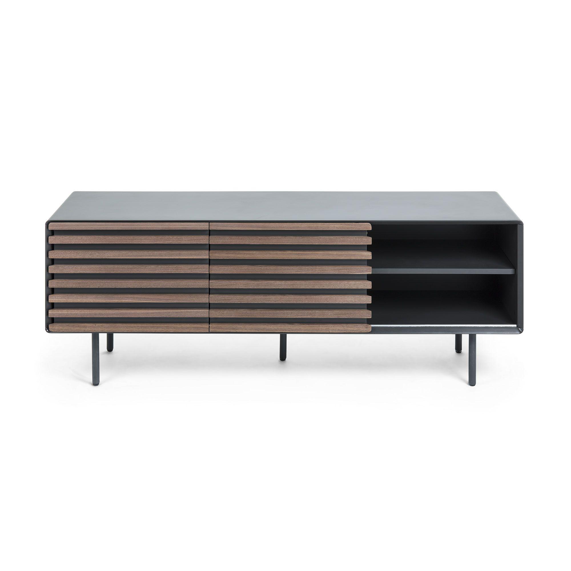 LaForma Mahon Tvbord 162x58 - Mat graphite