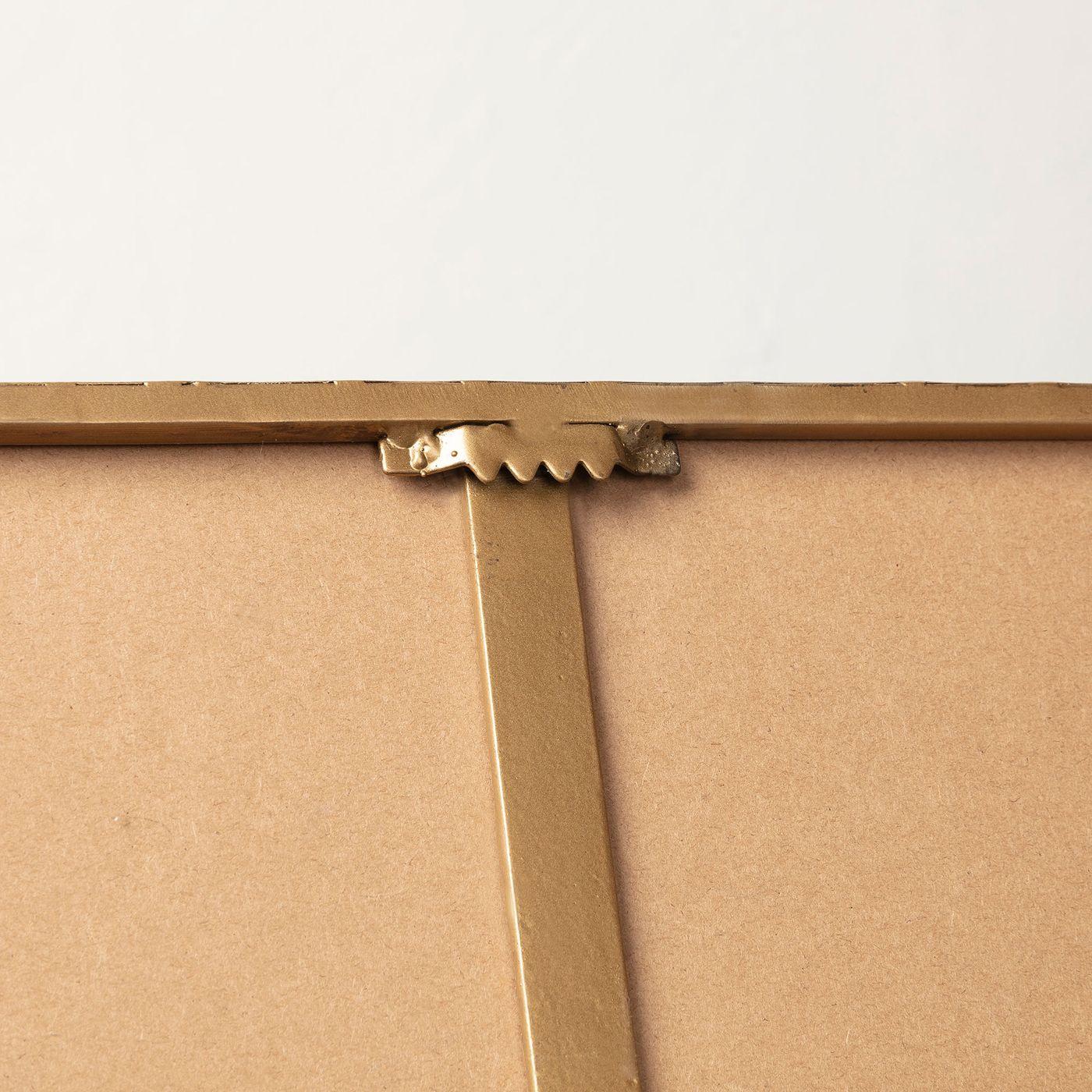 LaForma Marcus Spejl 60x60 cm - Gylden