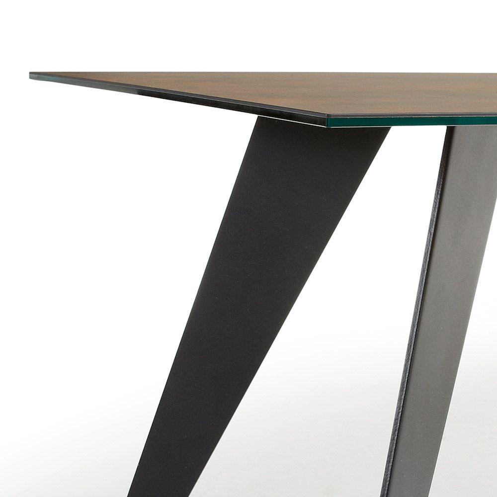LaForma Nack Spisebord - Brun Keramik