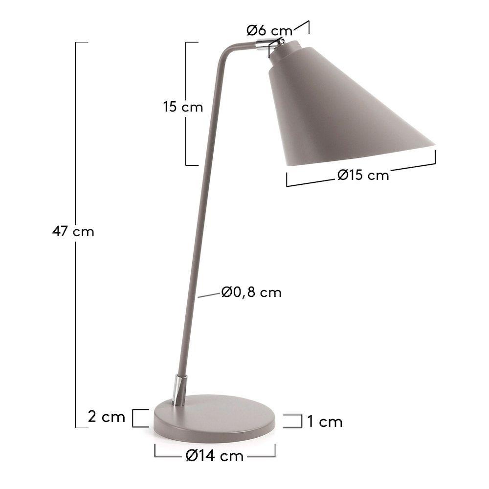 LaForma Priti Bordlampe - Grå