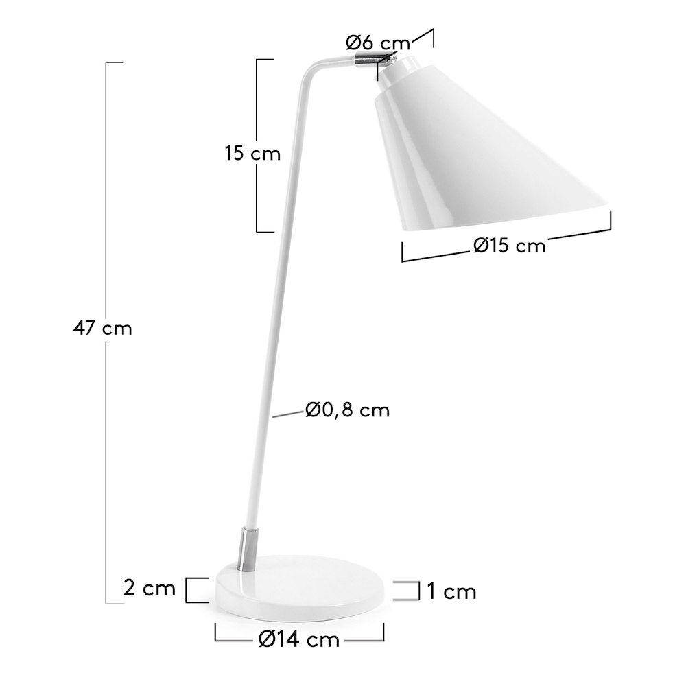 LaForma Priti Bordlampe - Pure White