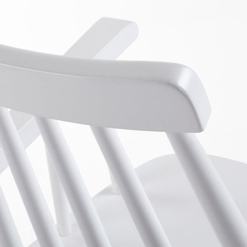LaForma Tressia Spisebordsstol - Pure White
