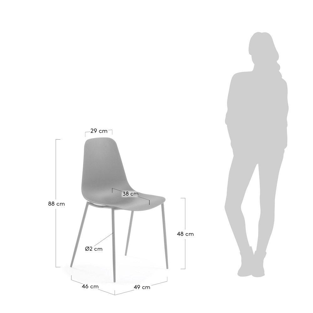 LaForma Wassu Spisebordsstol - Grå