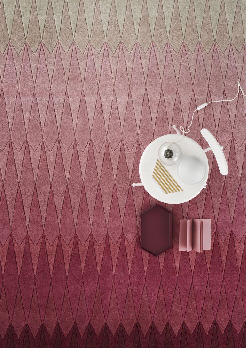 Linie Design Acacia Tæppe - Pink - 170x240 - 170x240 cm