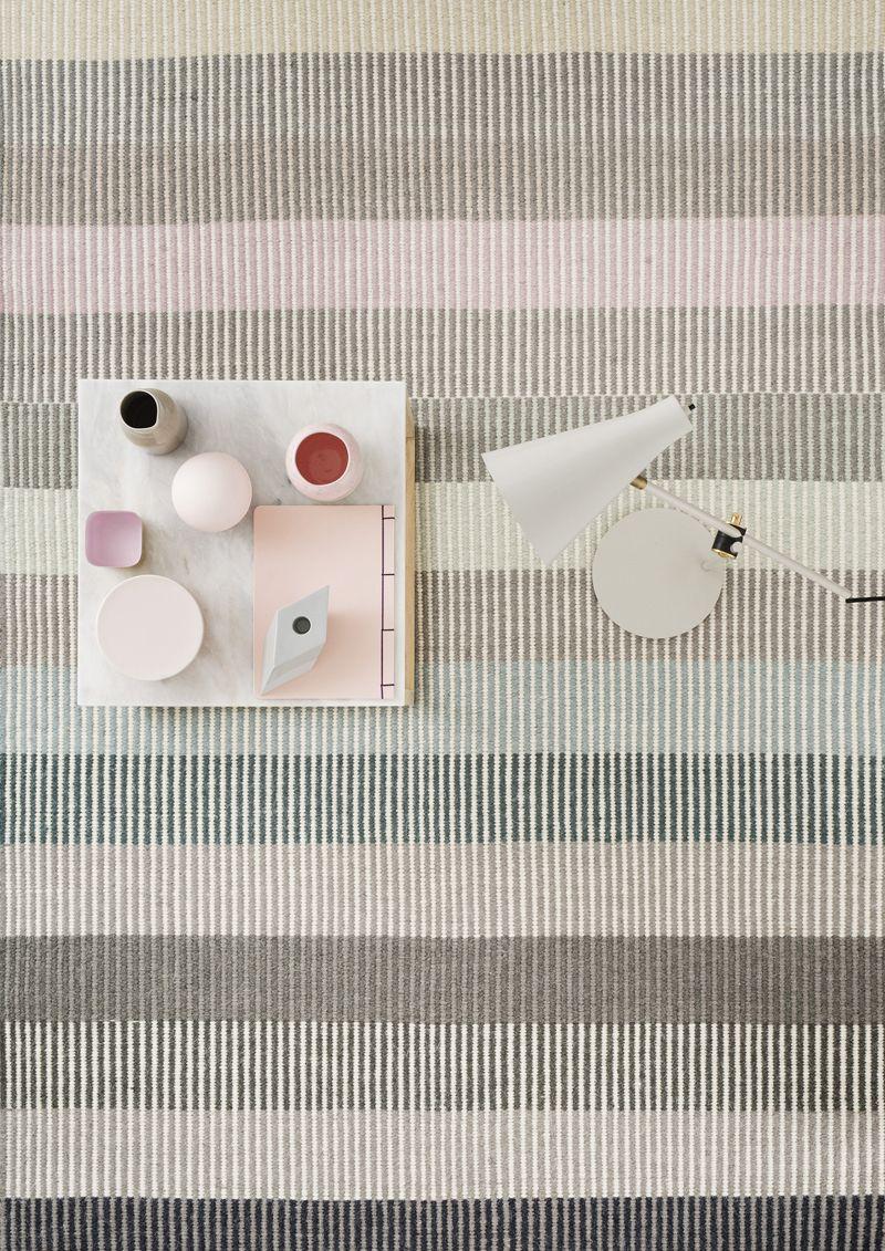 Linie Design Devise Pastel Tæppe - 200x300 - 200x300 cm