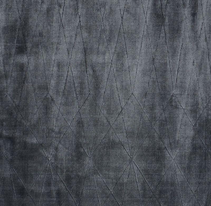 Linie Design Edge Tæppe - Blå - 140x200 - 140x200 cm