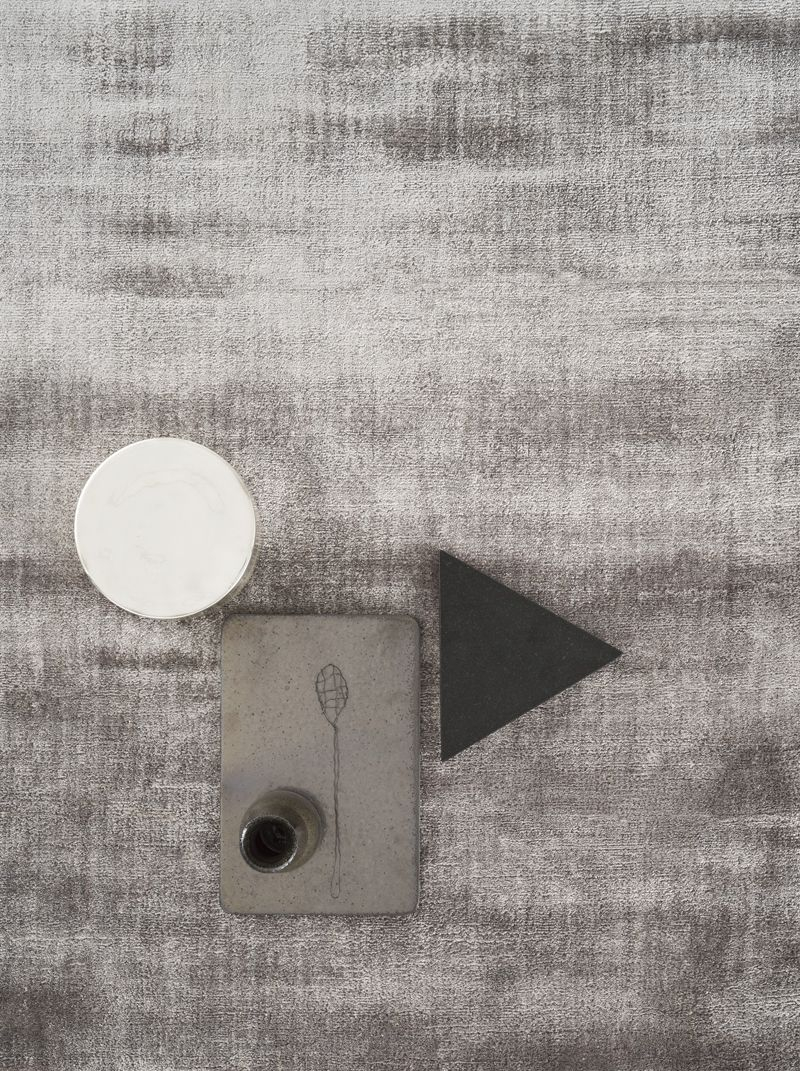 Linie Design Lucens Tæppe - Silver, 250x350
