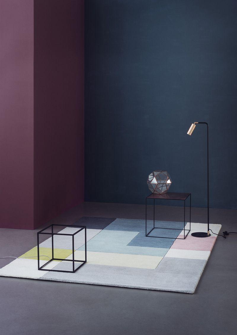 Linie Design Tetris - Lime Tæppe - 200x300 - 200x300 cm
